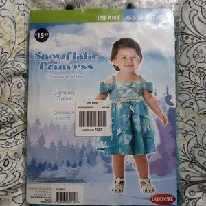 Other - Brand New Snowflake Princess Costume